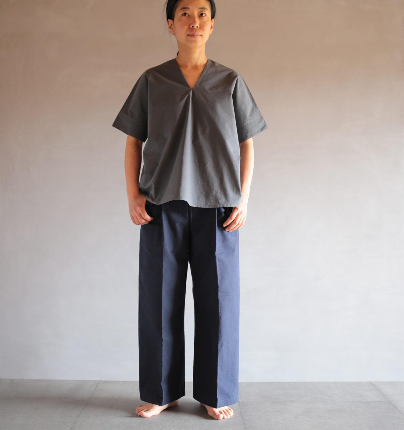 通販 カレン半袖シャツのアイキャッチ画像
