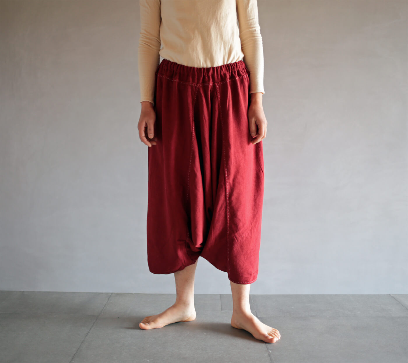 通販 赤いリスパンツ sold outのアイキャッチ画像