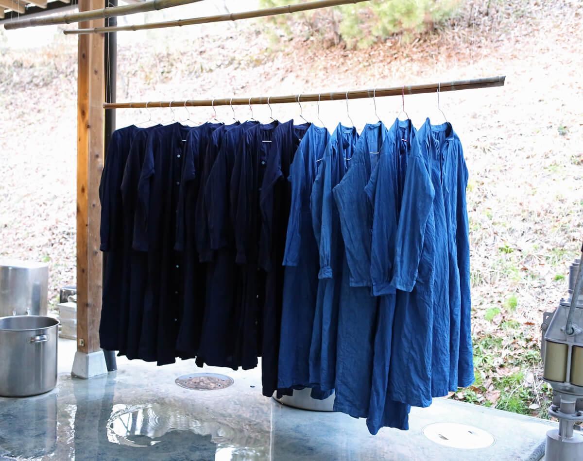 藍染めのアイキャッチ画像
