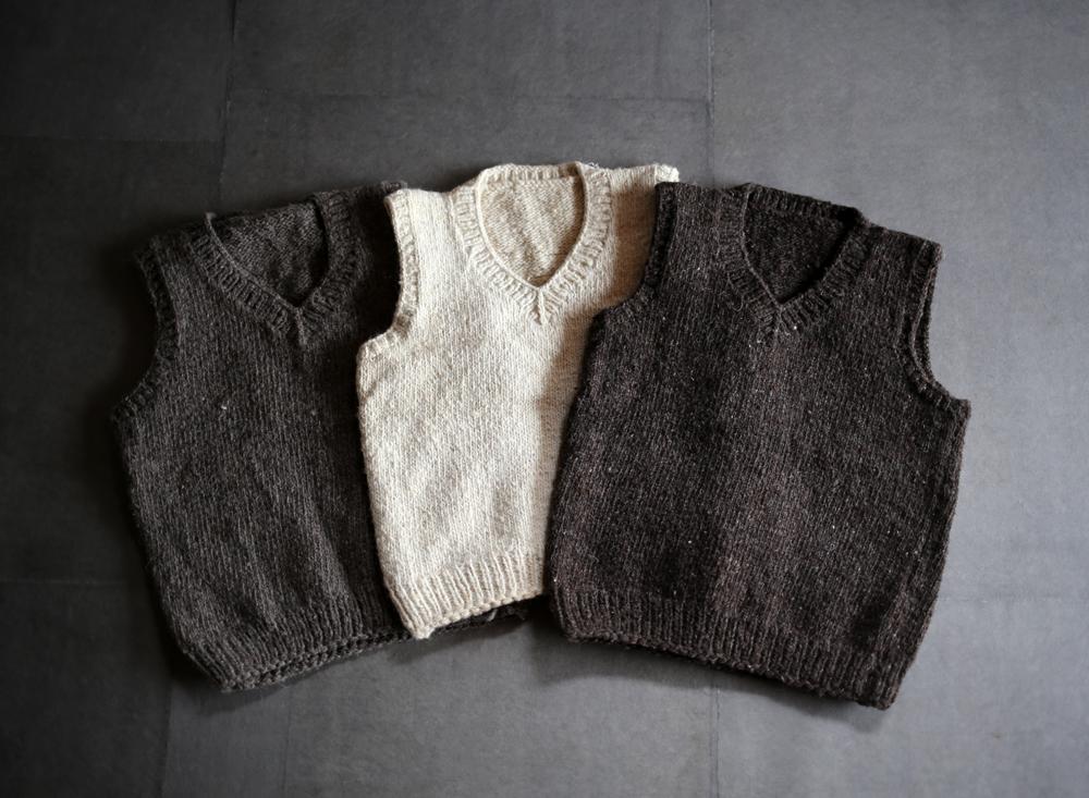 手編みのチョッキのアイキャッチ画像