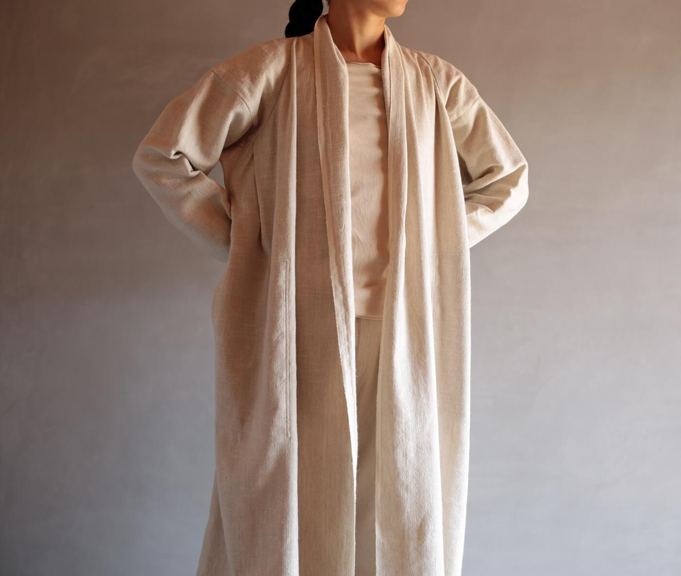 麻綿シルクのヘリンボーンのアイキャッチ画像
