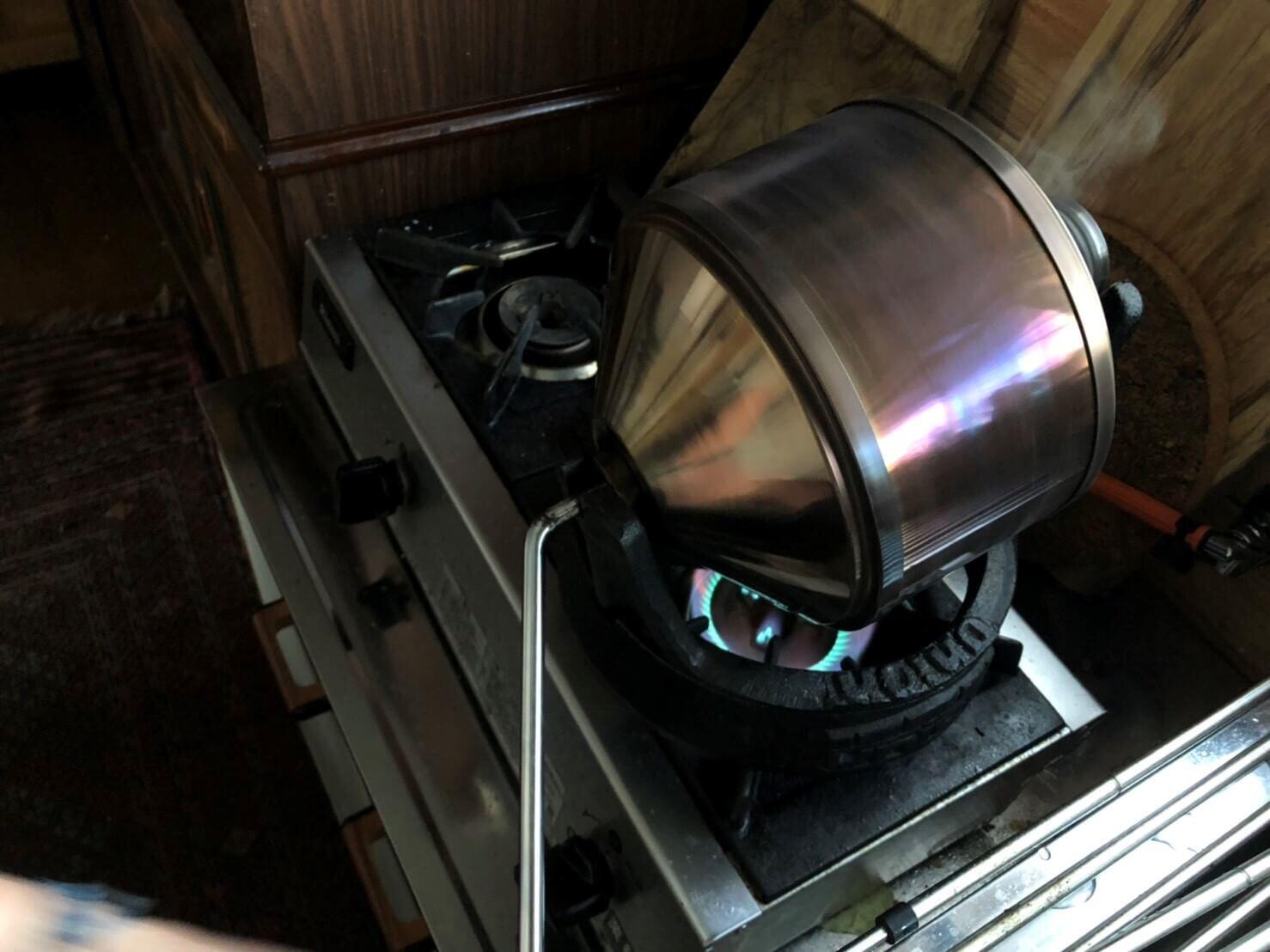 珈琲焙煎のアイキャッチ画像
