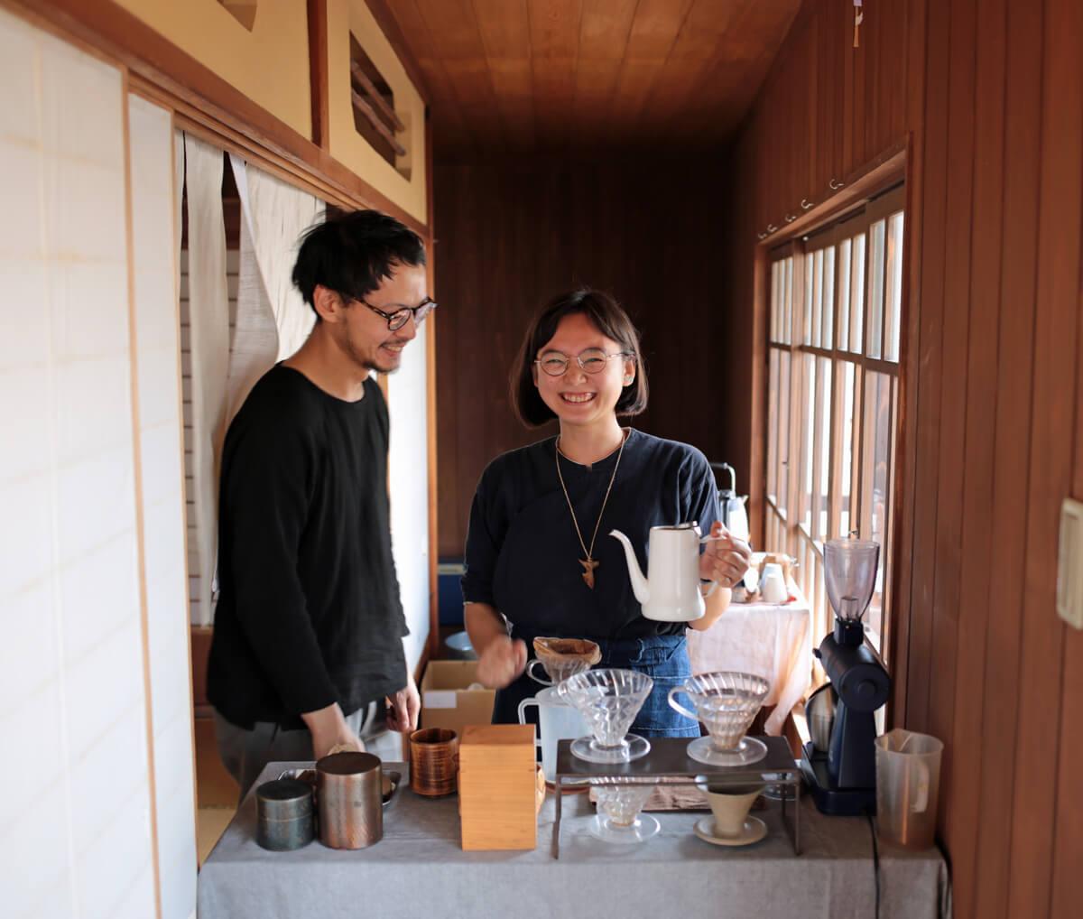 京都と升尾珈琲のアイキャッチ画像