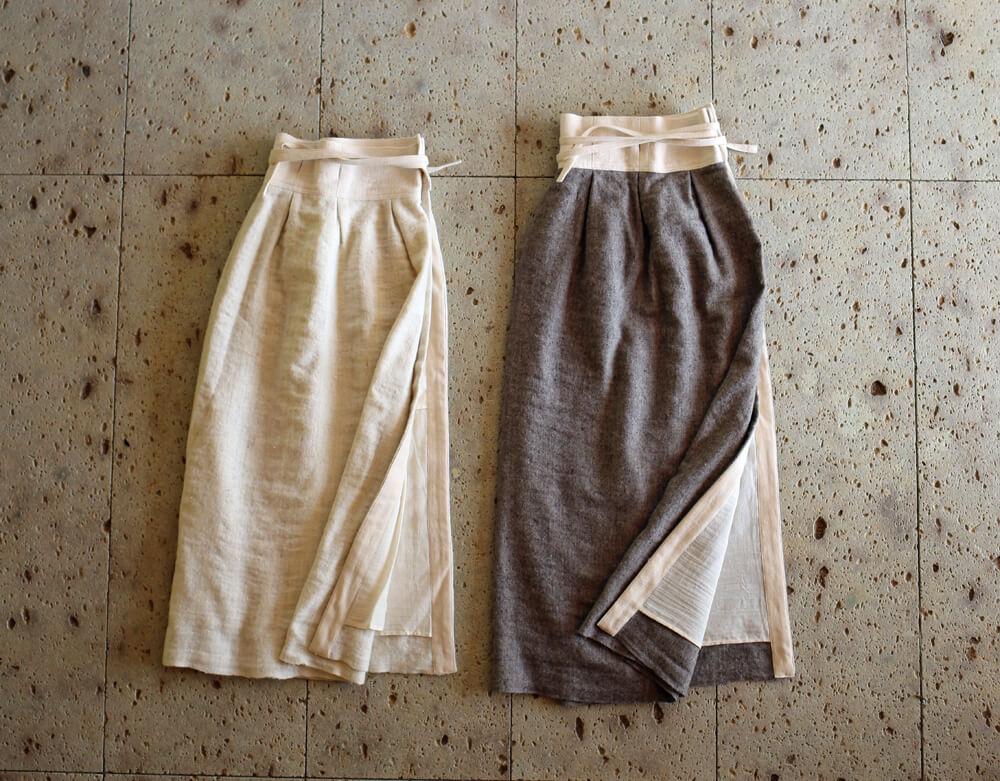 ヒマラヤウールのラップスカートのアイキャッチ画像