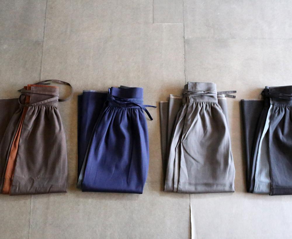 コットン×ウールのラップスカートのアイキャッチ画像