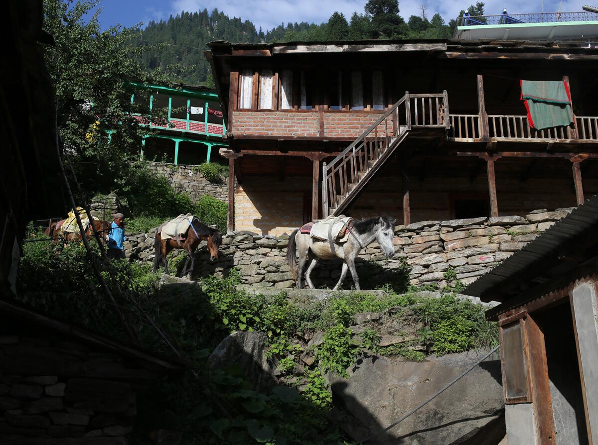 ヒマラヤの村のアイキャッチ画像
